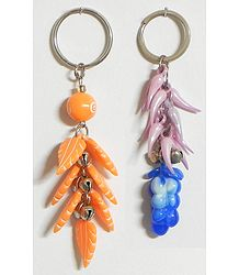 Desert and Ocean - Set of 2 Key Chains
