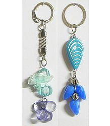 Peace - Set of 2 Acrylic Key Chains