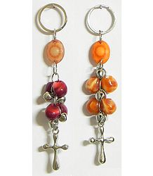 Crucifixes - Set of 2 Key Chains