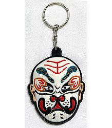Chinese Opera Mask Key Chain