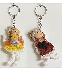 Innocence- Set of Two Doll Keychain