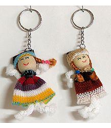 Joyous Stof Two Doll Key Rng