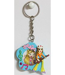 Key Chain with Photo Frame (Provisions for Placing Phtograph of your Choice)
