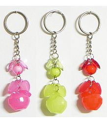 Acrylic Fruit Key Chain