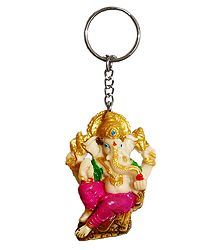 PVC Key Chain with Ganesha