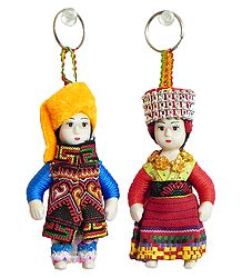 Shop Online Cute Doll Key Rings