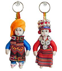Buy Online European Doll Key Rings