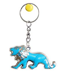 Acrylic Lion Key Chain