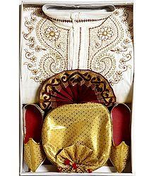 Bengal Ethnic Dress for Baby Boy