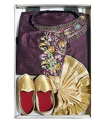 Bengal Annaprasan Dress for Baby Boy