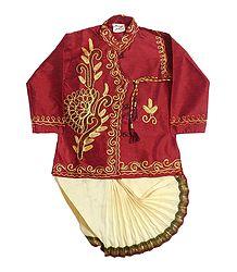 Ready to Wear Dhoti & Embroidered Kurta