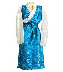 Brocade Silk Sikkimese Dress