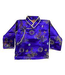 Woven Brocade Silk Kurta