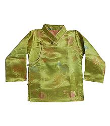 Shop Online Woven Brocade Silk Finish Kurta