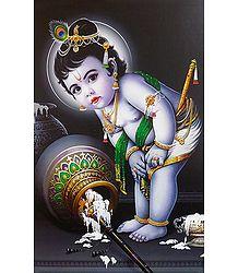 Natkhat Krishna - Poster