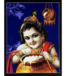 Makhan Chor Krishna