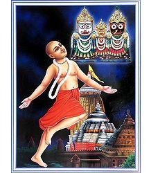 Chaitanya Mahaprabhu - Poster