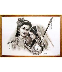 Krishna and Meera