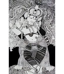 Krishna in Black and White