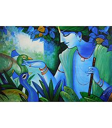 Animal Lover Krishna