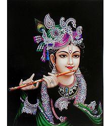 Murlidhar Krishna  - Card Paper Poster