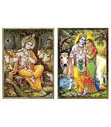 Krishna and Radha Krishna - Buy Posters
