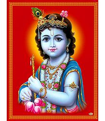 Young Krishna - Poster