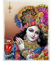 Murlidhar Krishna - Glitter Poster