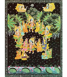 Buy Raas Lila of Krishna Poster