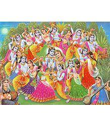 Krishna Lila - Poster
