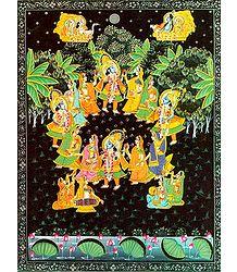 Raas Lila of Krishna