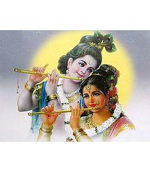 Radha and Krishna - The Eternal Lovers