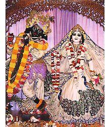 Radha Govinda - Photographic Print