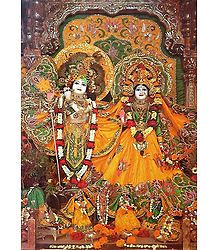 Radha Govinda - Photo Print