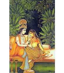 The Secret Rendevous of Radha Krishna