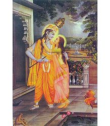 Secret Rendevous of Radha Krishna