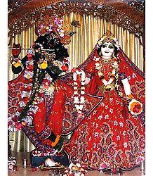 Radha Krishna - Photographic Print