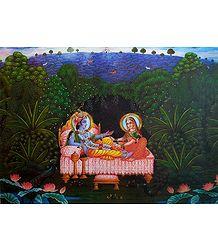 Radha And Krishna - Poster