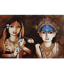 Image of Radha Krishna - The Eternal Lovers