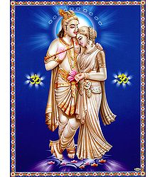 Radha Krishna - The Eternal Lovers- Poster