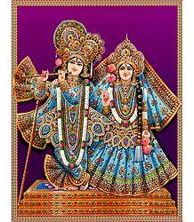 Radha Krishna in Rajbesh