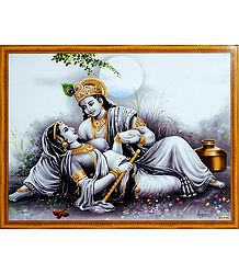 Secret Rendezvous of Radha and Krishna