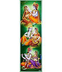 Rendezvous of Radha Krishna
