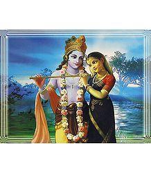 Buy Radha Krishna Poster