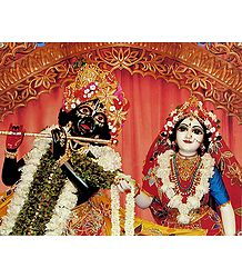 Photo Print of Radha Krishna - The Eternal lovers