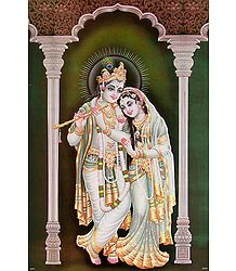 Radha Krishna - The Eternal Lovers - Poster