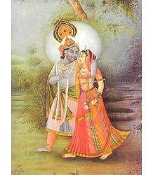 Radha Krishna - Divine Lovers
