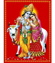 Radha and Krishna - The Divine Lovers