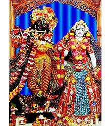 Buy Radha Krishna - Photographic Print