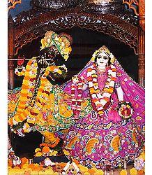 Radha Madhav - Photographic Print